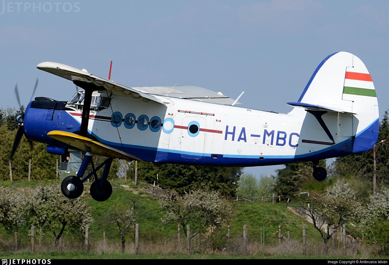 HA-MBC - PZL-Mielec An-2R - Air Patrol