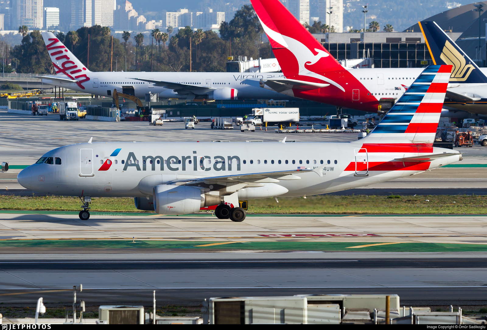 N754uw Airbus A319 112 American Airlines 214 M 252 R