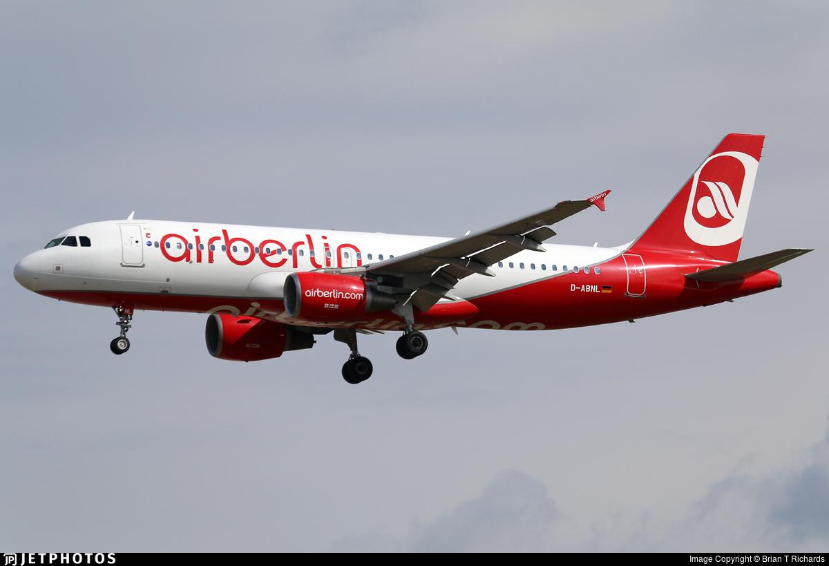 D-ABNL - Airbus A320-214 - Air Berlin