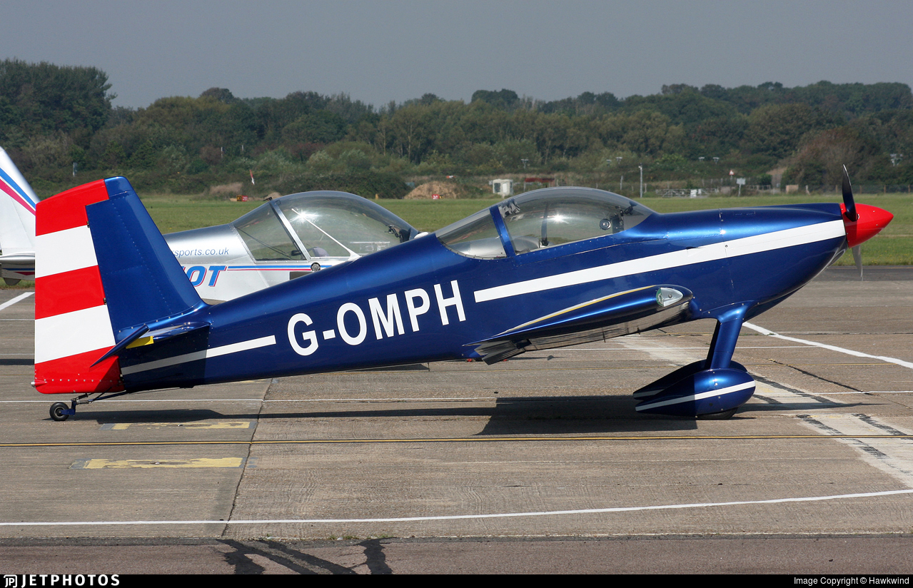 G-OMPH - Vans RV-7 - Private