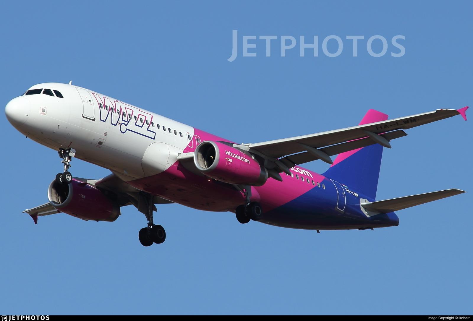 HA-LWM - Airbus A320-232 - Wizz Air