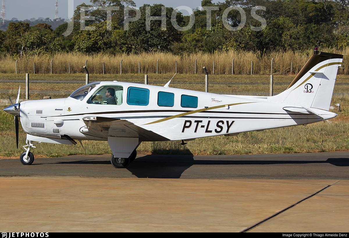 PT-LSY - Beechcraft B36TC Bonanza - Private