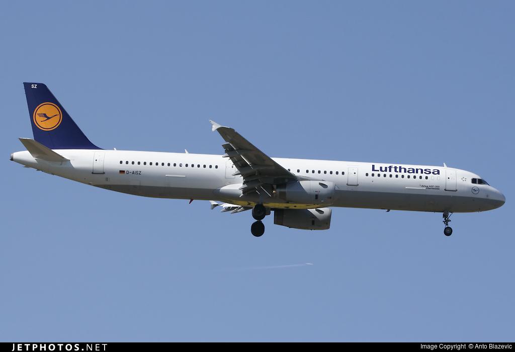 D-AISZ - Airbus A321-231 - Lufthansa