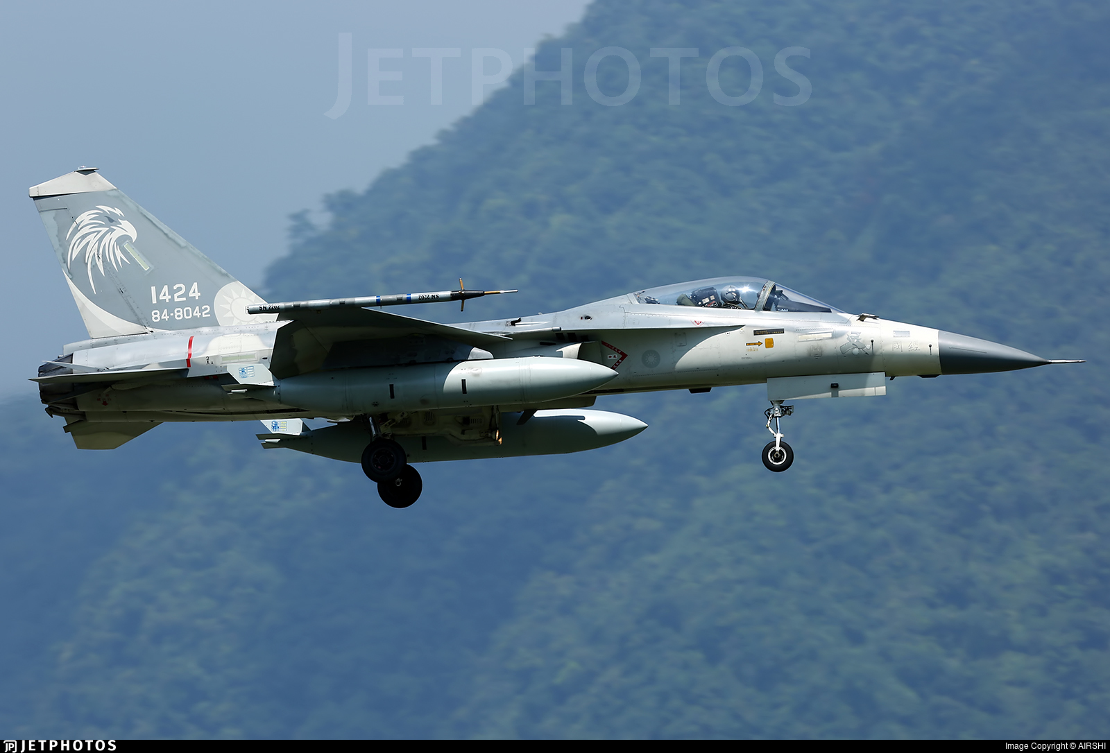 1424 - AIDC F-CK-1C Ching Kuo - Taiwan - Air Force
