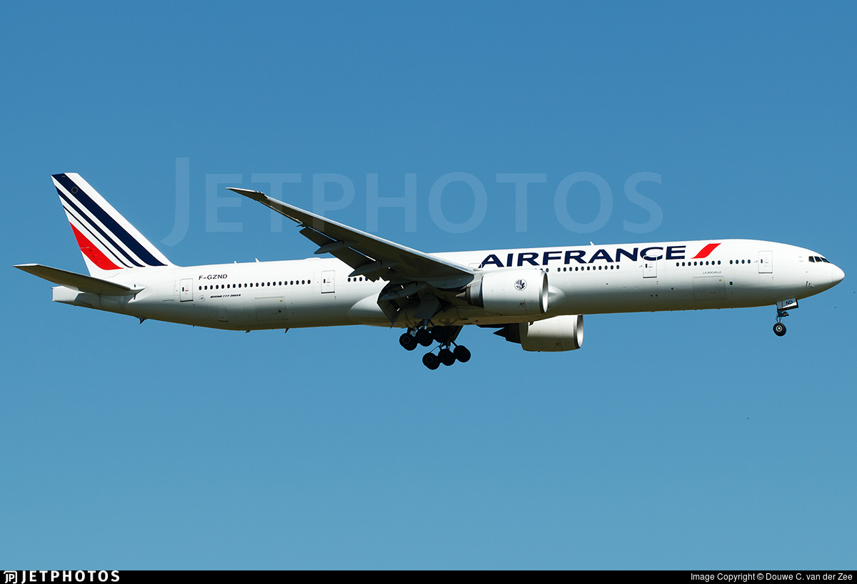 F-GZND - Boeing 777-328ER - Air France