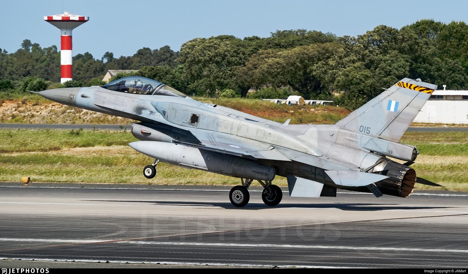 015 - Lockheed Martin F-16C Fighting Falcon - Greece - Air Force