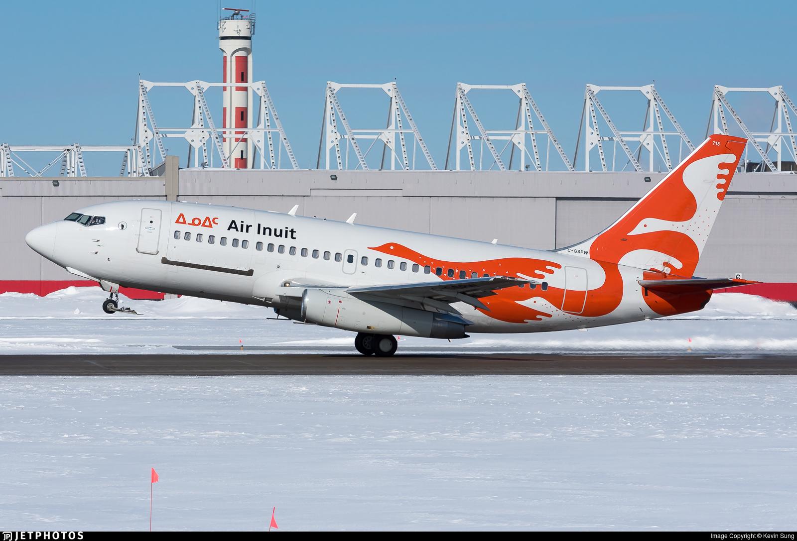 C-GSPW - Boeing 737-275C(Adv) - Air Inuit