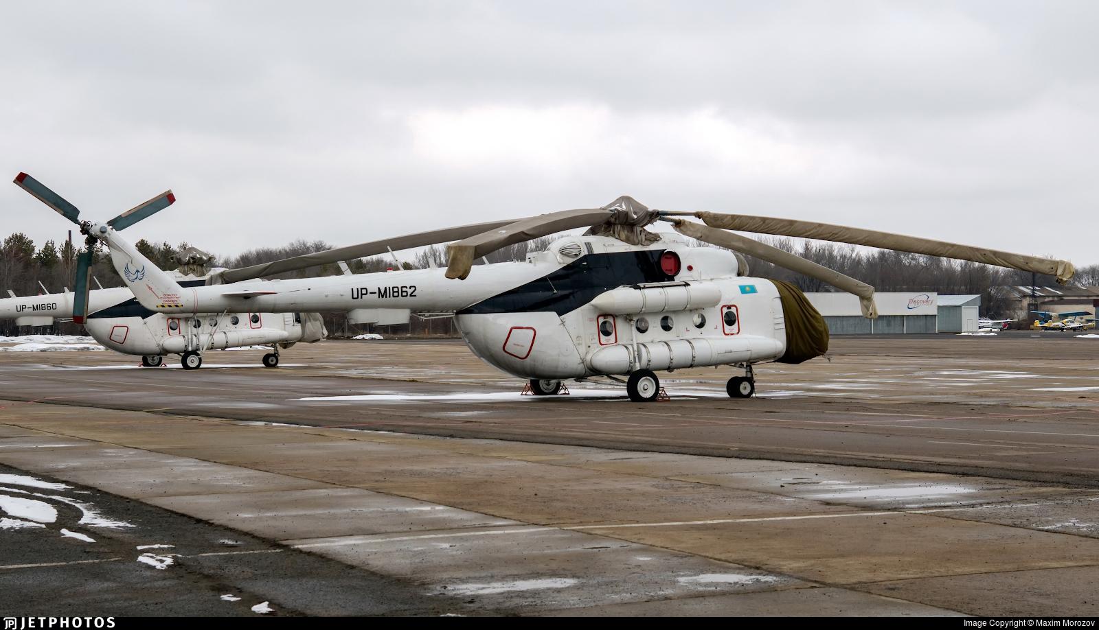 UP-MI862 - Mil Mi-8MTV-1 Hip - Kazakhstan - Government