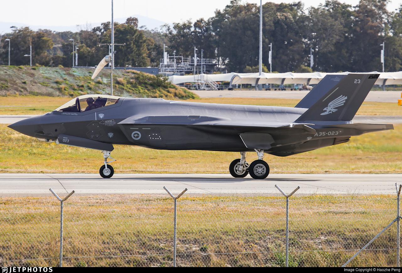 A35-023 - Lockheed Martin F-35A Lightning II - Australia - Royal Australian Air Force (RAAF)