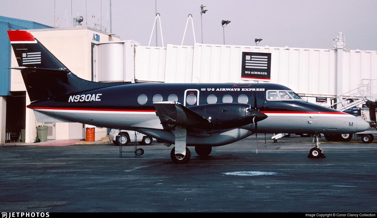 N930AE - British Aerospace Jetstream 32 - US Airways Express (CCAir)