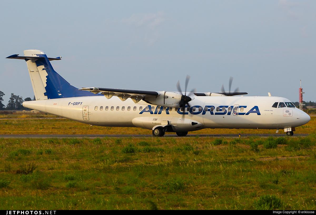 F-GRPY - ATR 72-212A(500) - Air Corsica