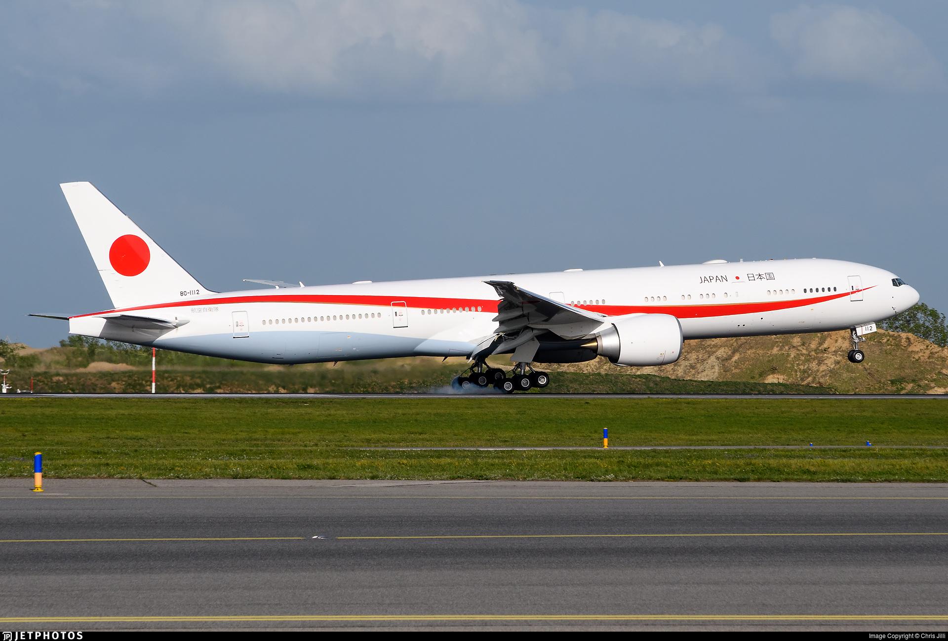 80-1112 - Boeing 777-3SBER - Japan - Air Self Defence Force (JASDF)
