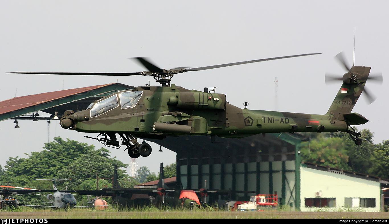 HS-7212 - Boeing AH-64E Apache Guardian - Indonesia - Army