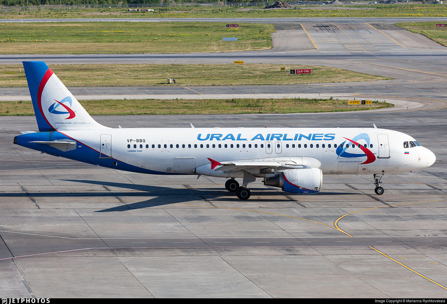 VP-BBQ - Airbus A320-214 - Ural Airlines