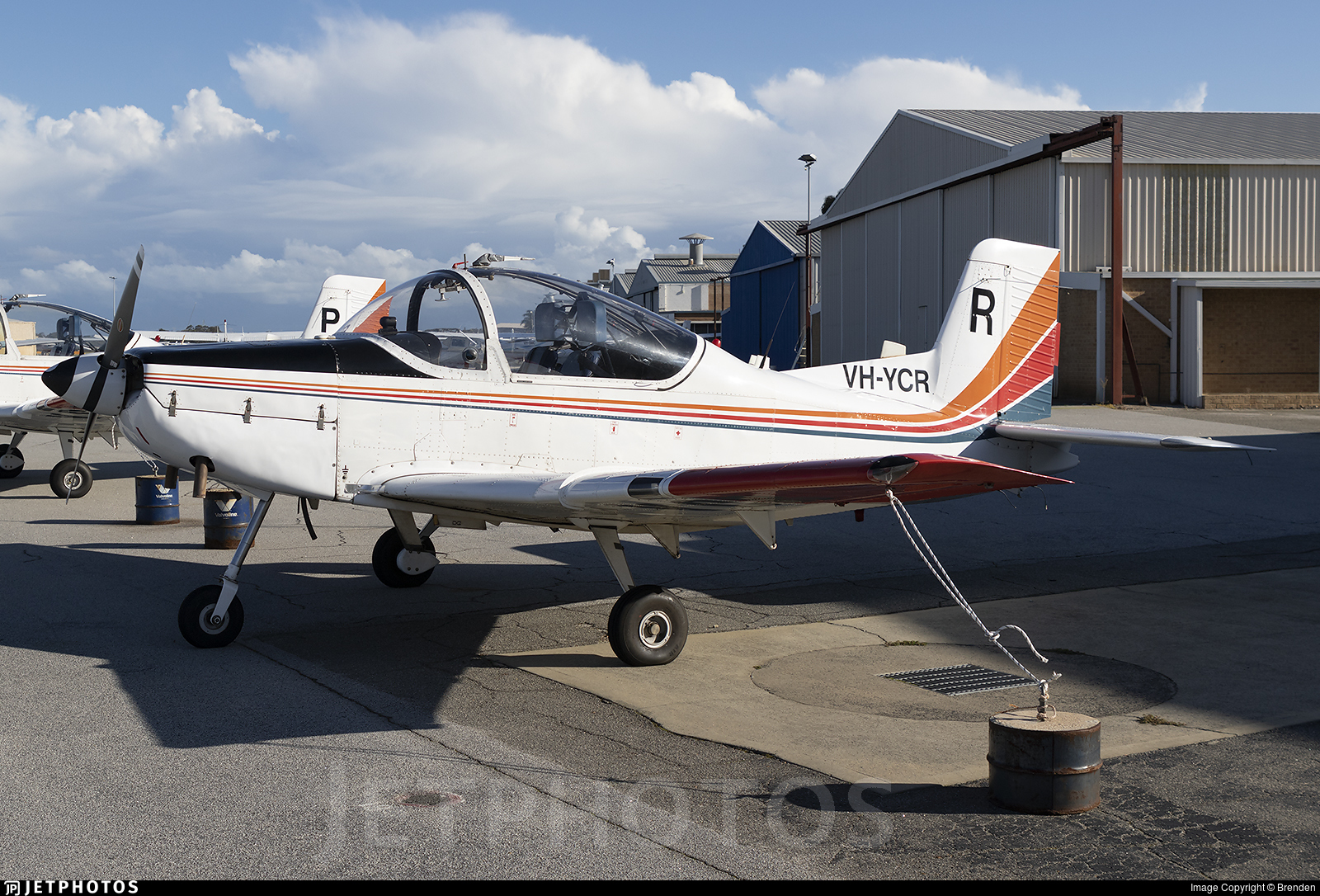 VH-YCR - Pacific Aerospace CT-4B Airtrainer - Pacific Flight Services
