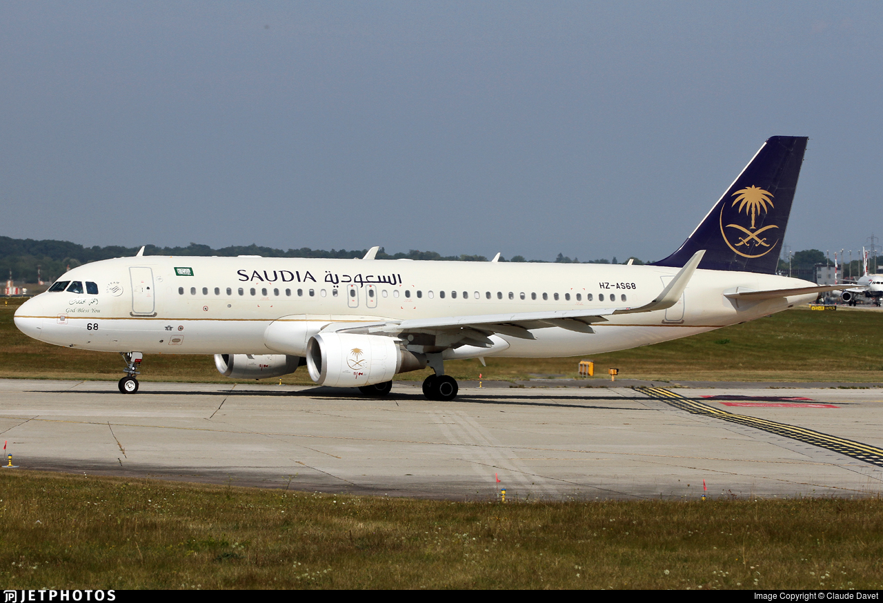 HZ-AS68 - Airbus A320-214 - Saudi Arabian Airlines
