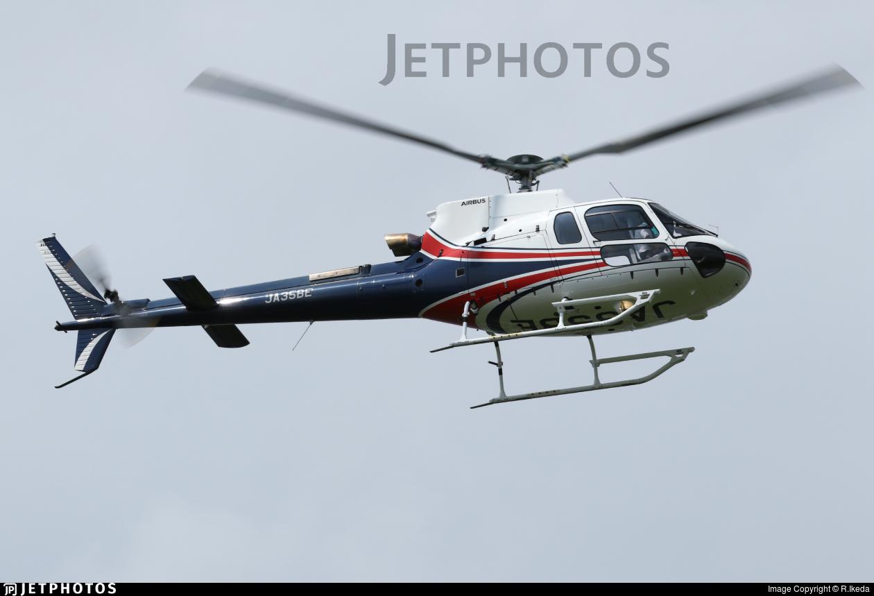 JA35BE - Eurocopter AS 350B3 Ecureuil - Noevir Aviation