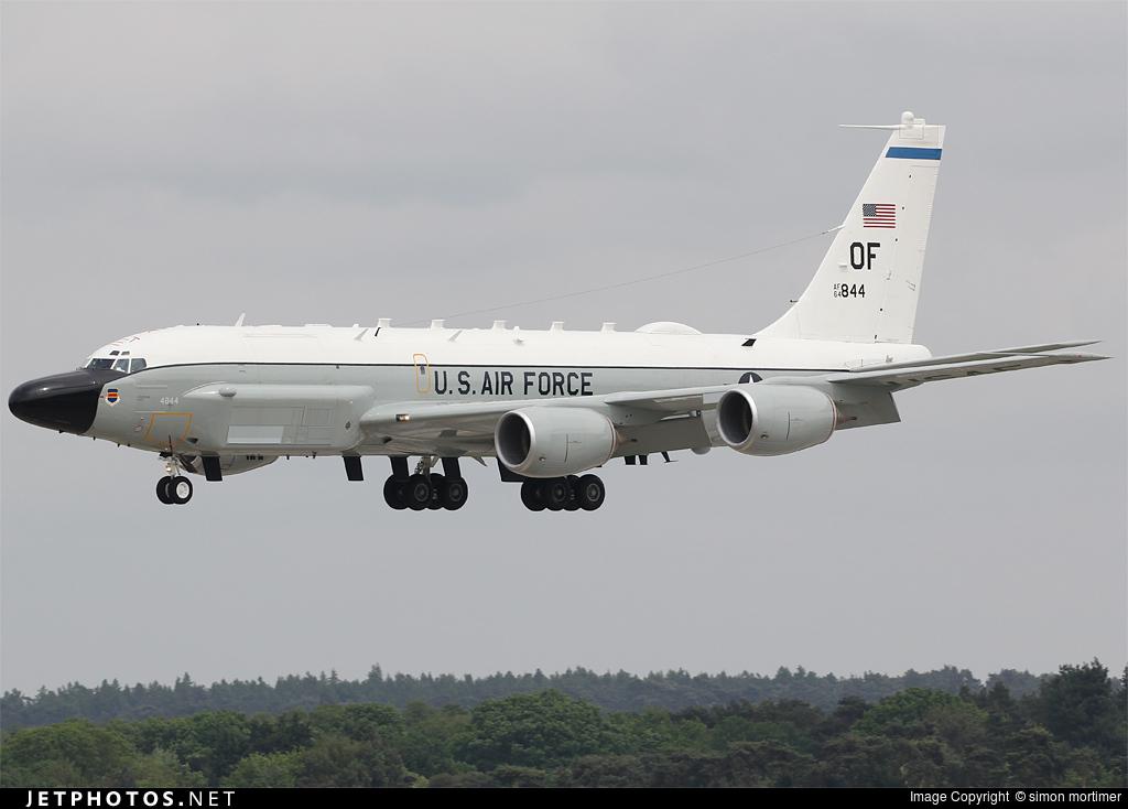 64-14844 - Boeing RC-135V Rivet Joint - United States - US Air Force (USAF)