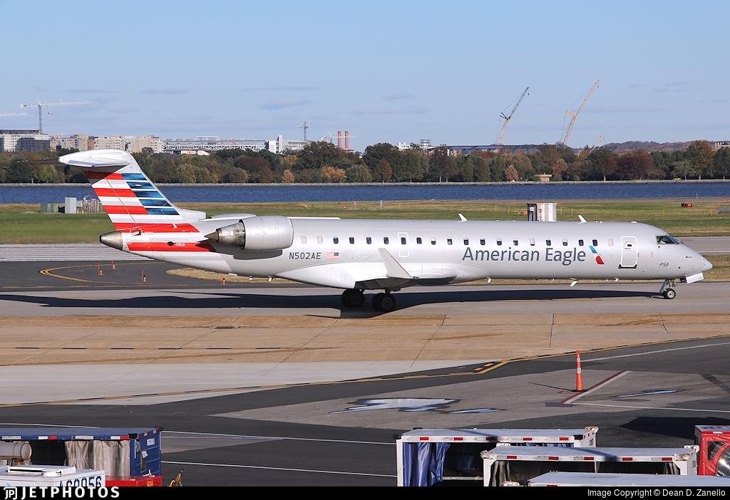 N502AE - Bombardier CRJ-701ER - American Eagle (PSA Airlines)