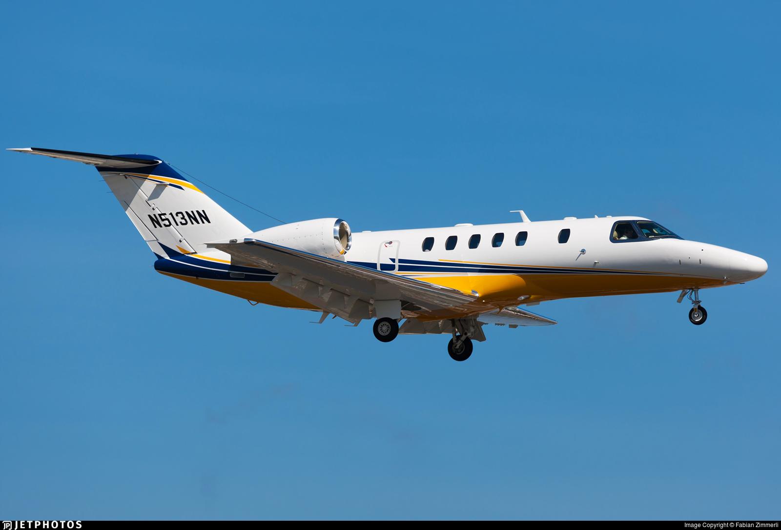 N513NN - Cessna 525 Citationjet CJ4 - Private