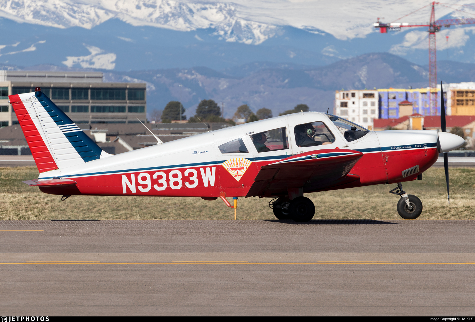 N9383W - Piper PA-28-235 Cherokee C - Private