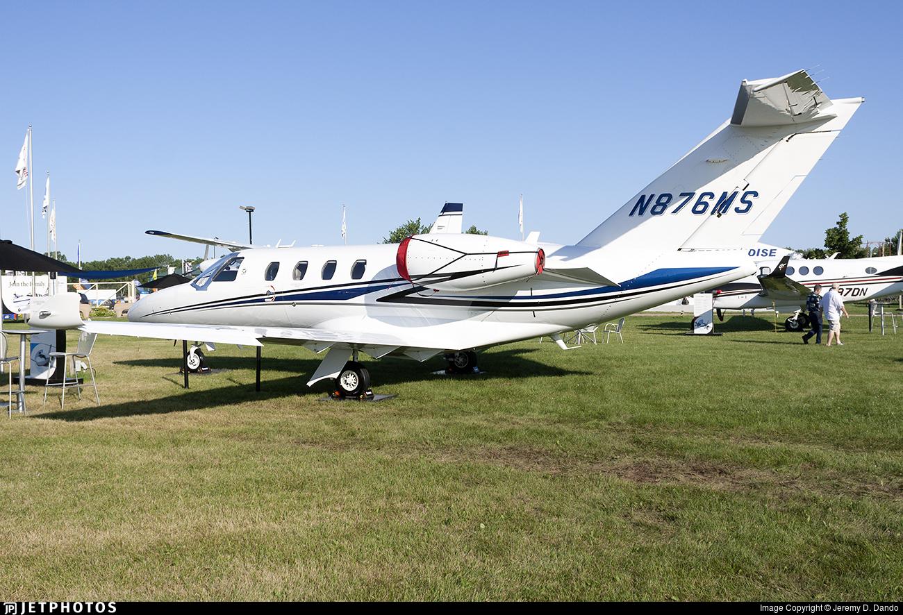 N876MS - Cessna 525 CitationJet M2 - Cessna Aircraft Company