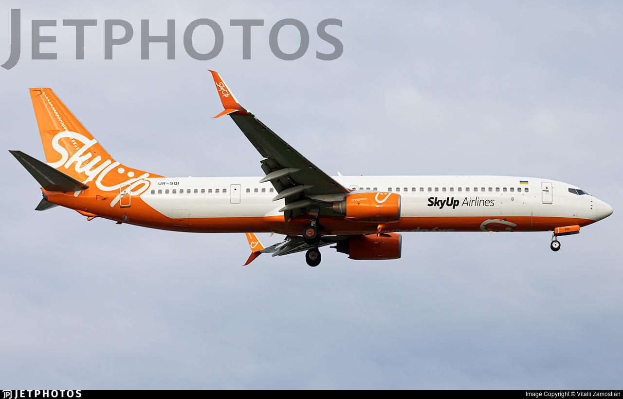 UR-SQI - Boeing 737-96NER - SkyUp Airlines