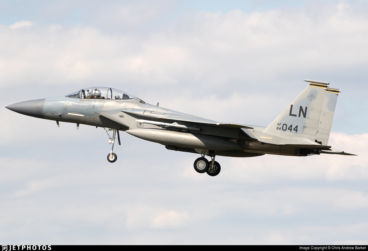84-0044 - McDonnell Douglas F-15D Eagle - United States - US Air Force (USAF)