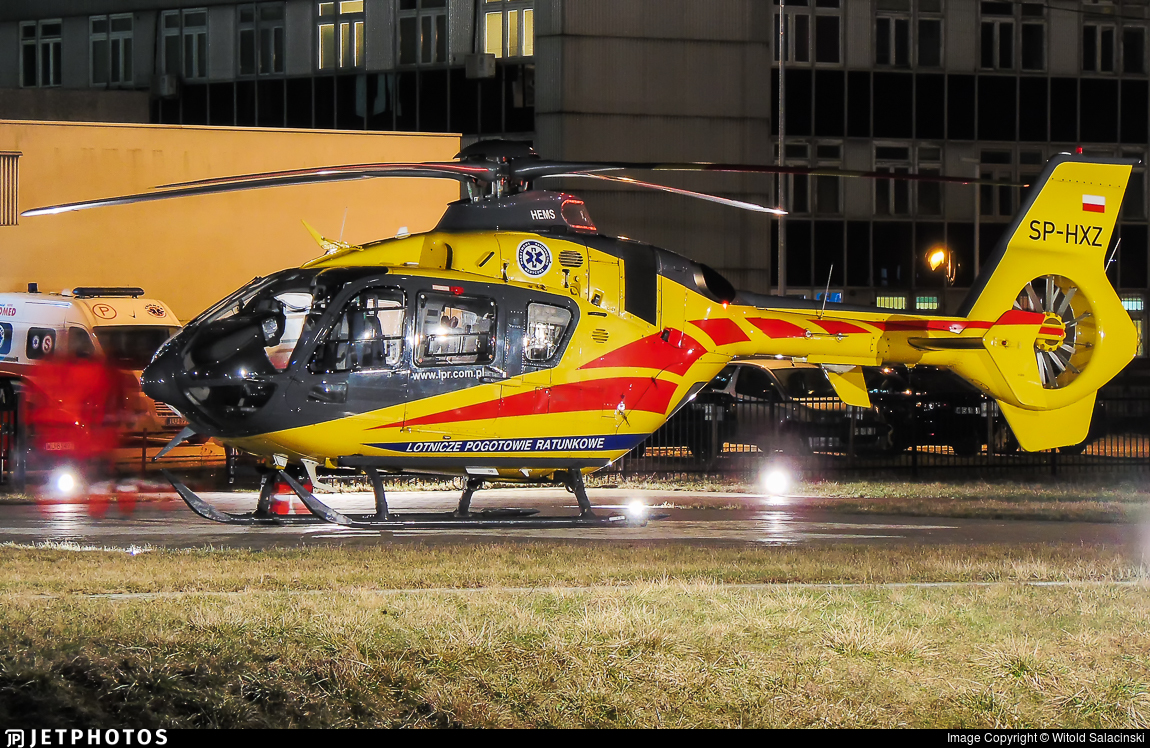 �hxz_SP-HXZ EurocopterEC135P2i LotniczePogotowieRatunkowe WitoldSalacinski