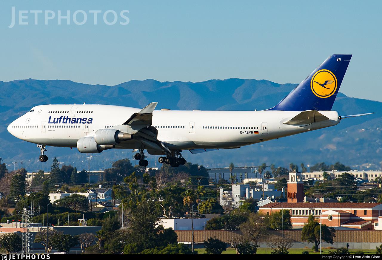 D-ABVR - Boeing 747-430 - Lufthansa