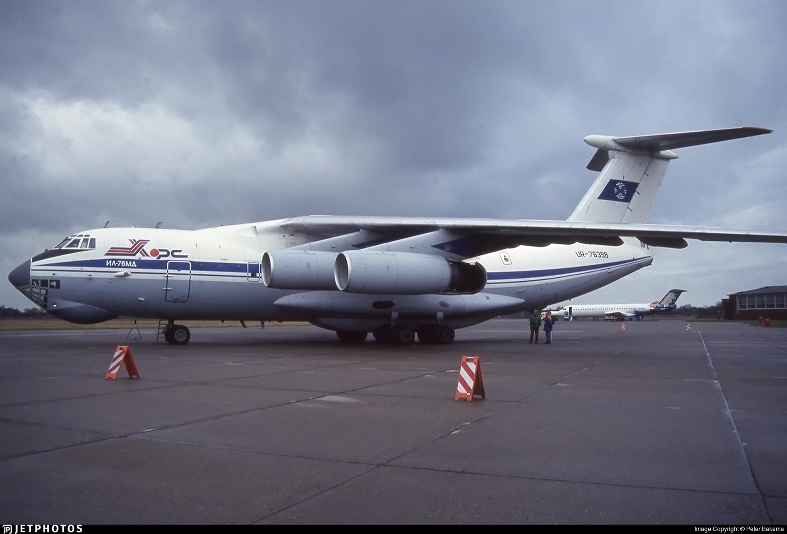 UR-76398 - Ilyushin IL-76MD - Khors Aircompany