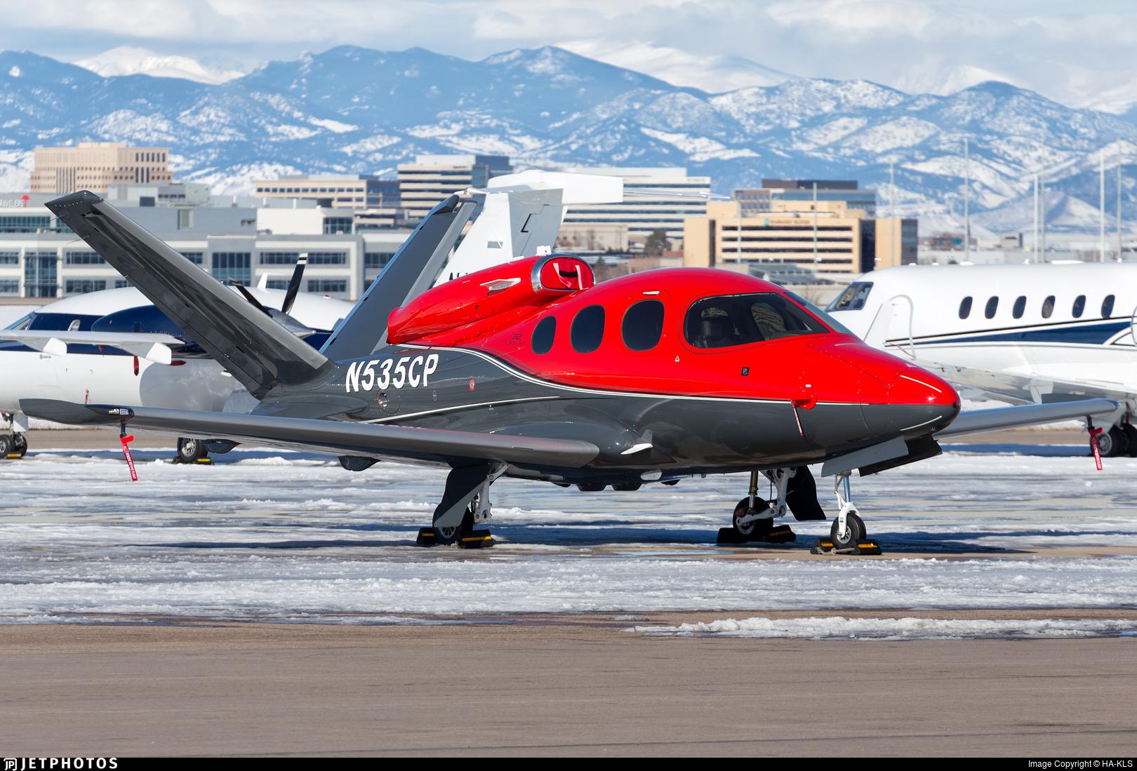 N535CP - Cirrus Vision SF50 G2 - Private