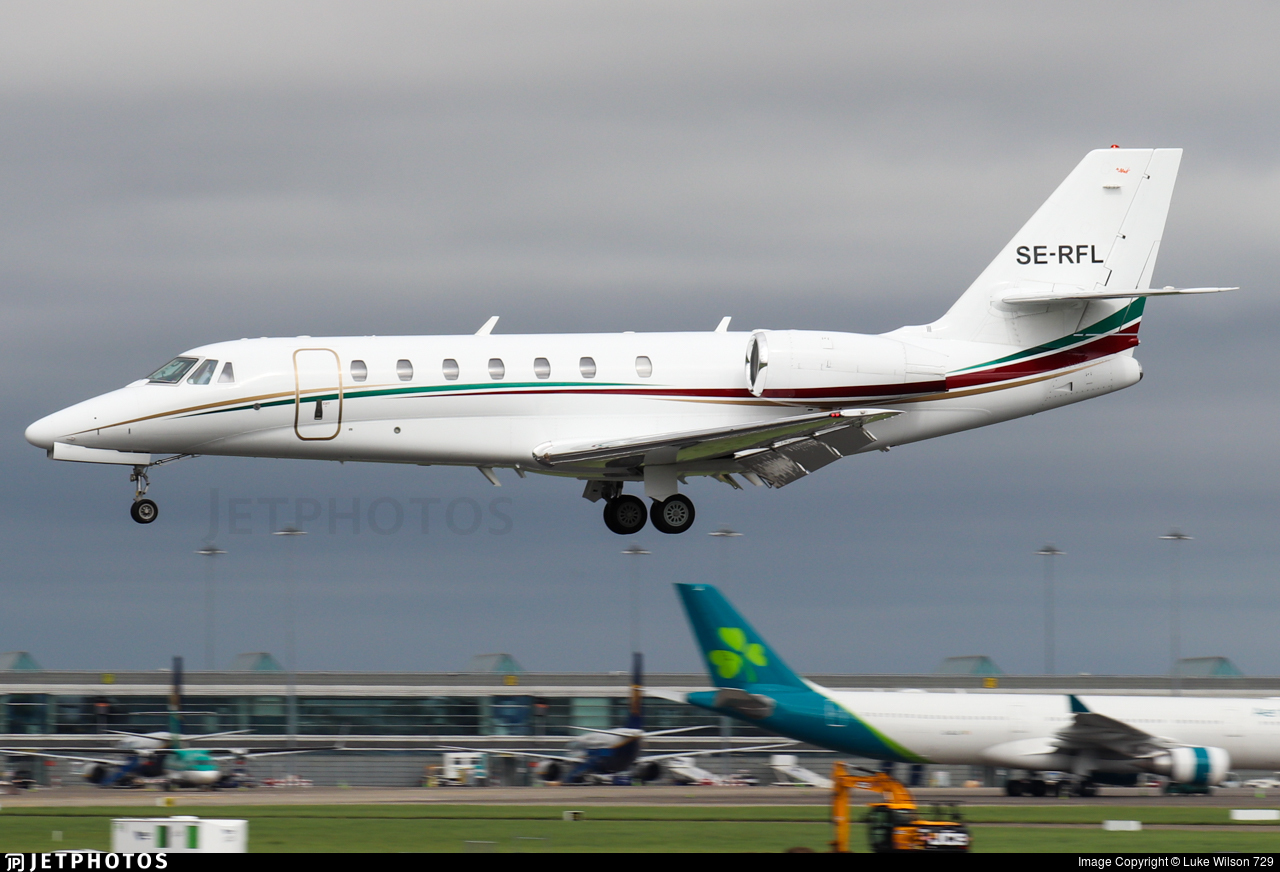 SE-RFL - Cessna 680 Citation Sovereign - Private