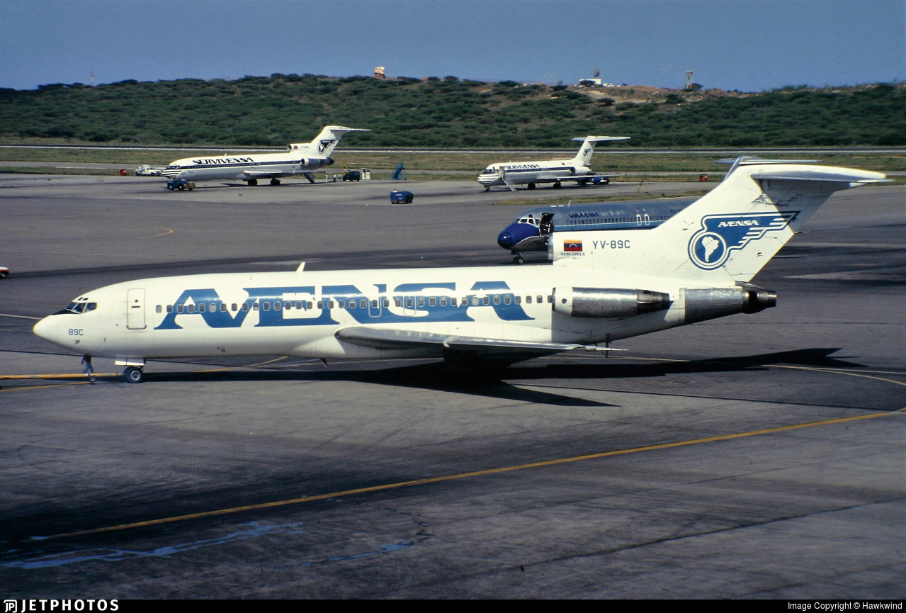 YV-89C - Boeing 727-22 - AVENSA - Aerovías Venezolanas