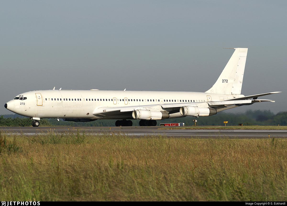 272 - Boeing 707-3L6C Re'em  - Israel - Air Force