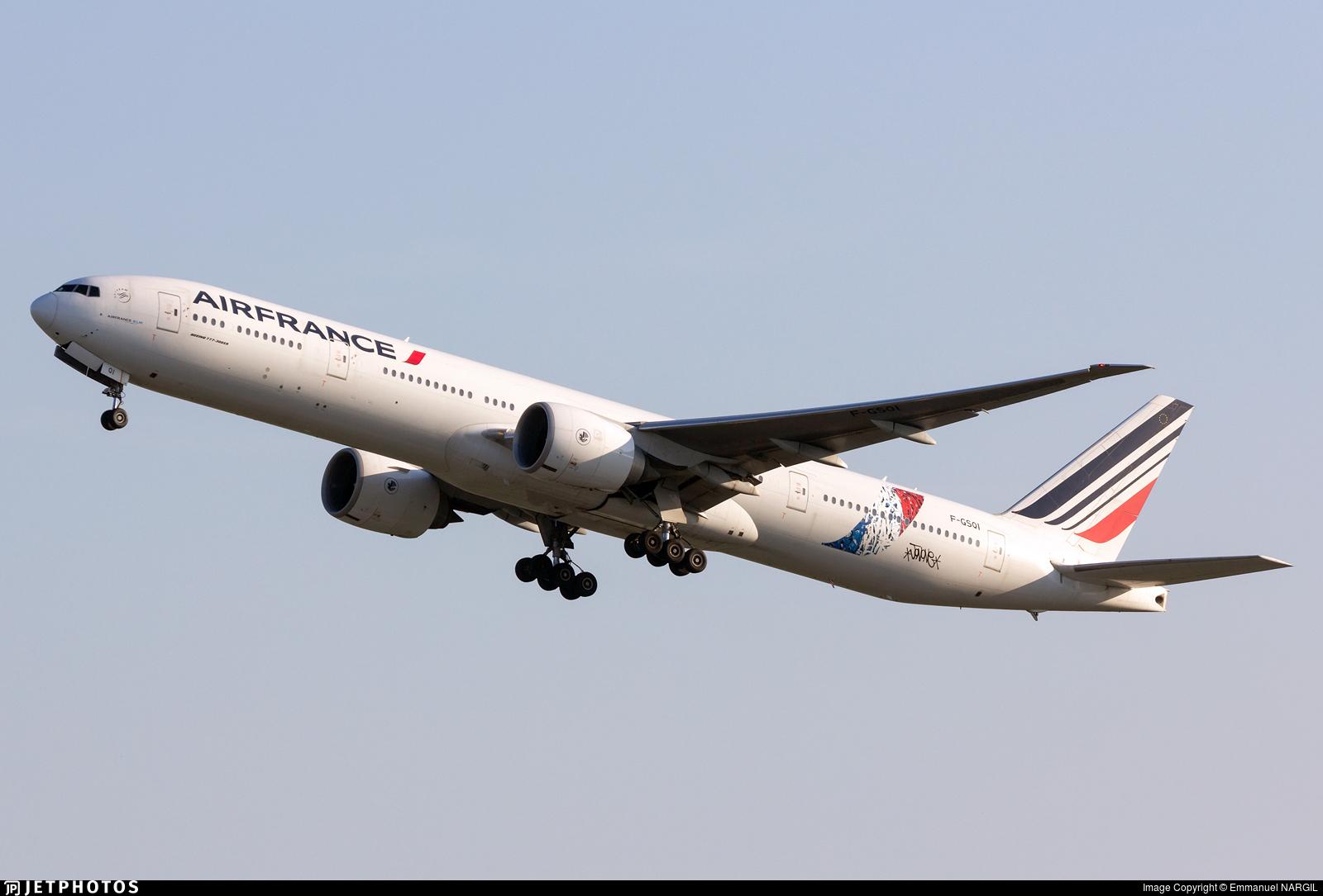 F-GSQI - Boeing 777-328ER - Air France