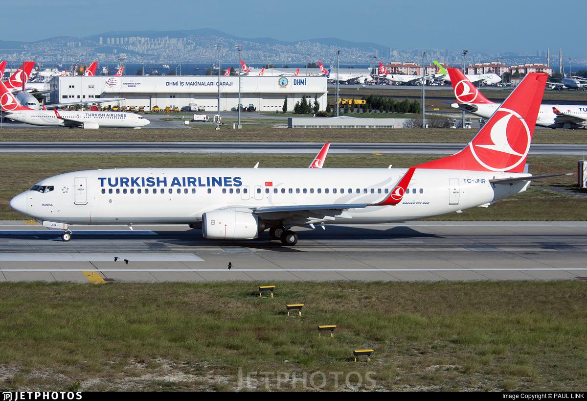 TC-JHR - Boeing 737-8F2 - Turkish Airlines