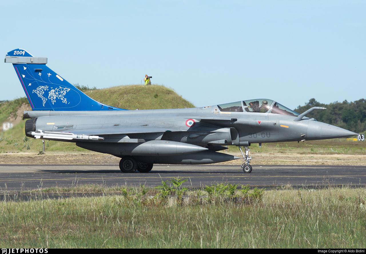 142   Dassault Rafale C   France - Air Force   Aldo Bidini