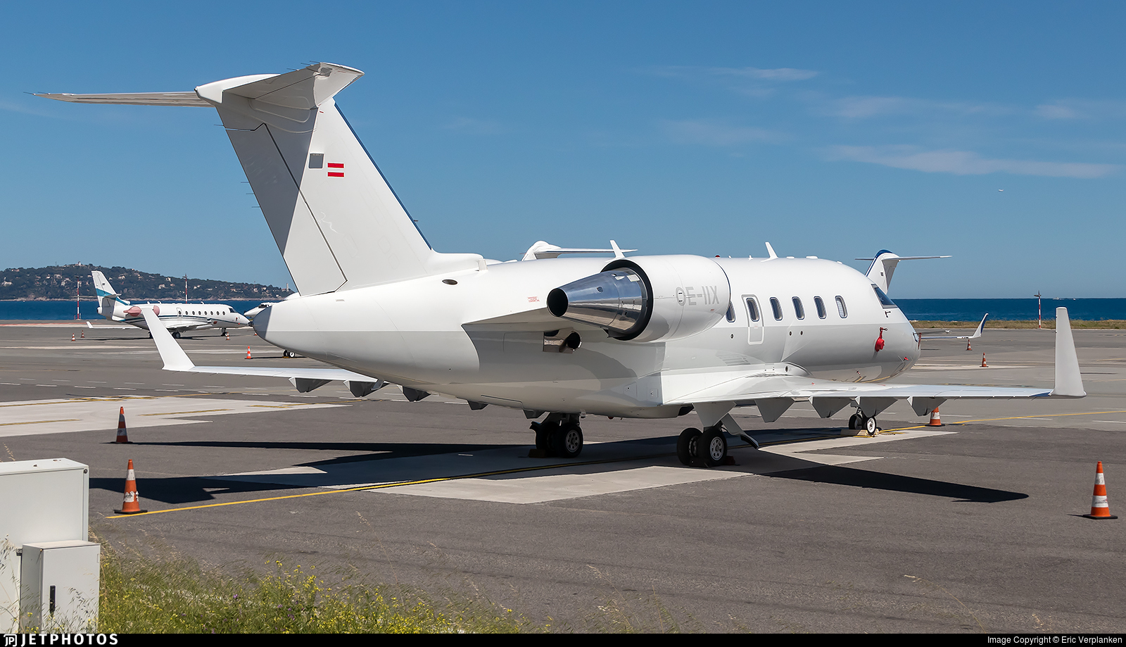 OE-IIX - Bombardier CL-600-2B16 Challenger 605 - Sparfell Luftfahrt