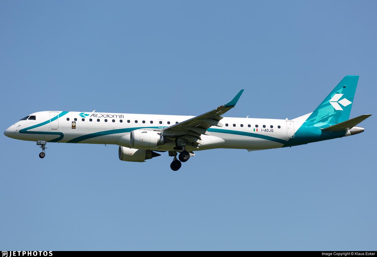 I-ADJQ - Embraer 190-200LR - Air Dolomiti