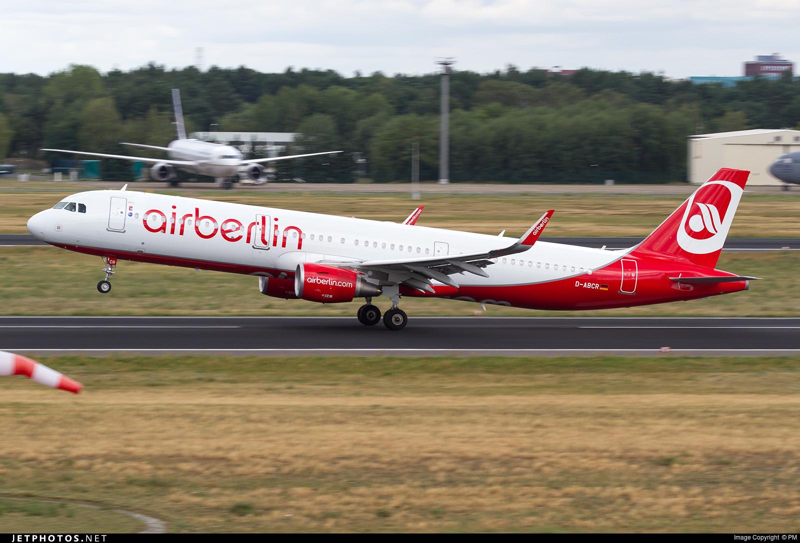 D-ABCR - Airbus A321-211 - Air Berlin