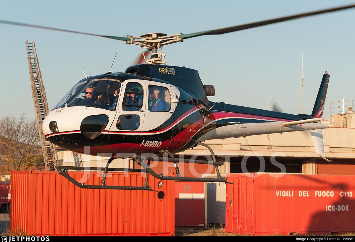 I-BMBO - Aérospatiale AS 350B Ecureuil - Eurotech