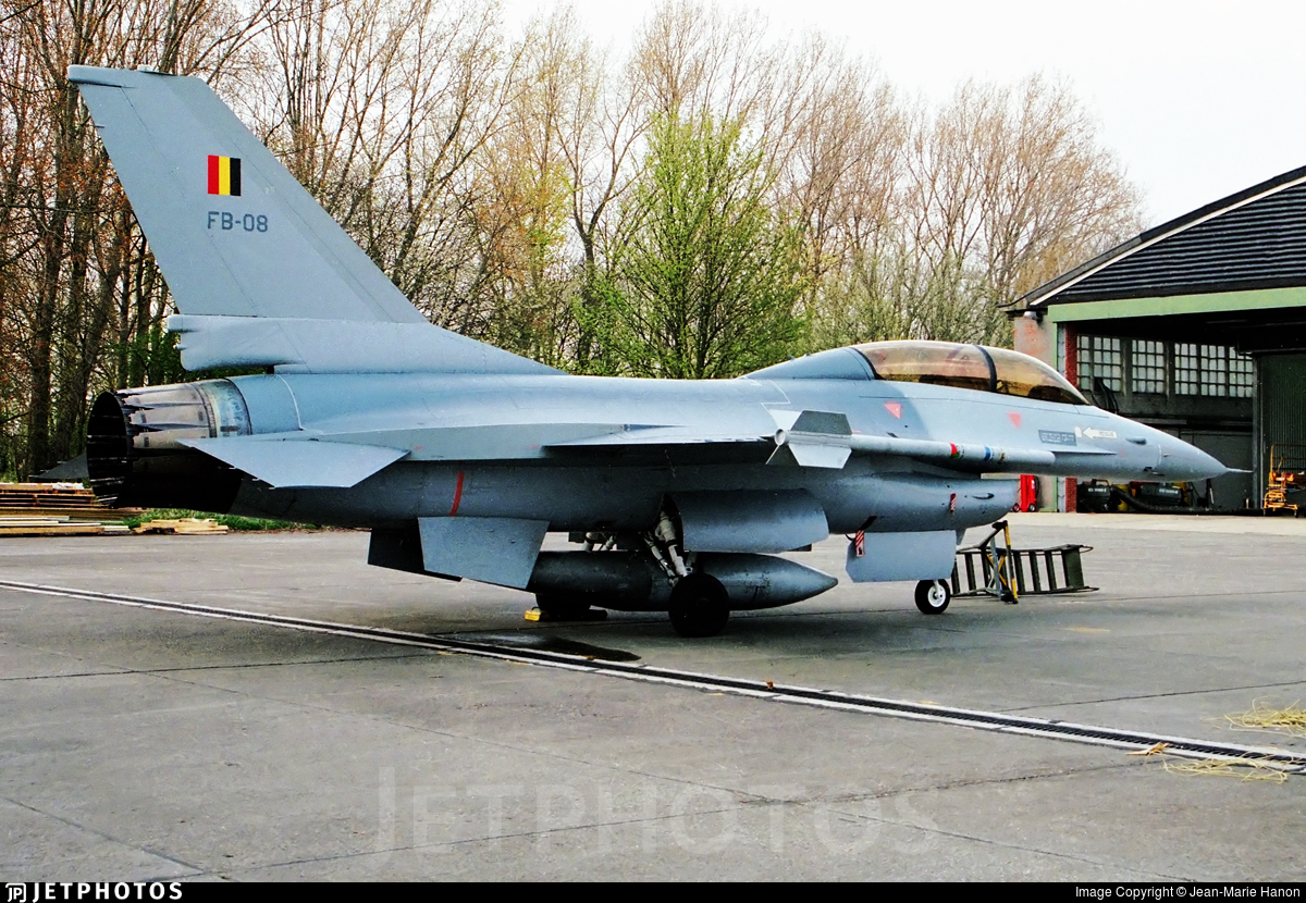 FB-08 - General Dynamics F-16B Fighting Falcon - Belgium - Air Force