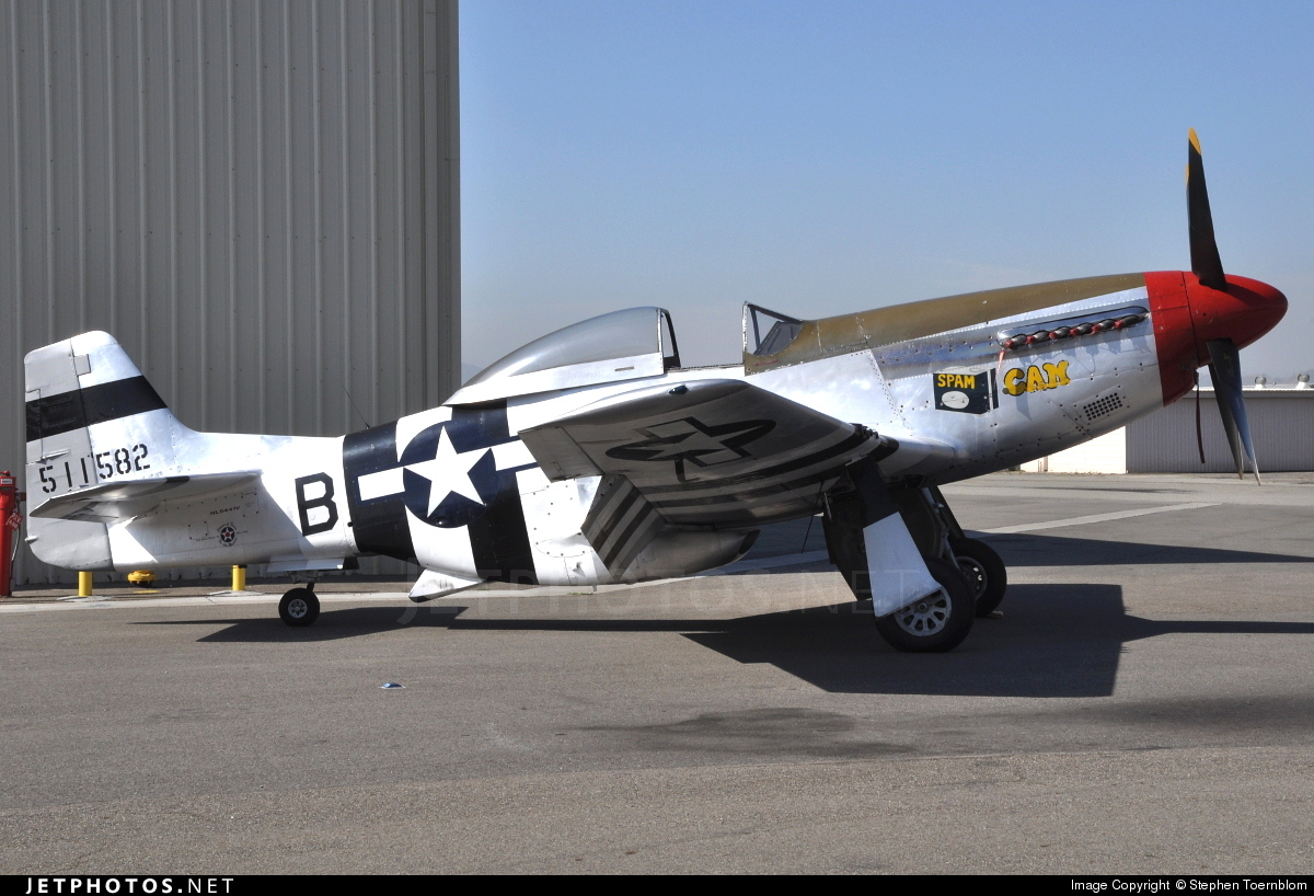 NL5441V - North American P-51D Mustang - Planes of Fame Air Museum