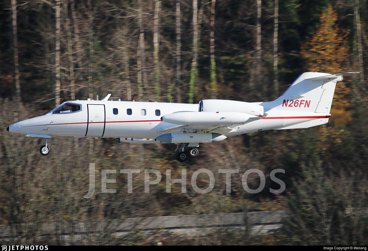 N26FN - Bombardier Learjet 36 - L-3 Communications