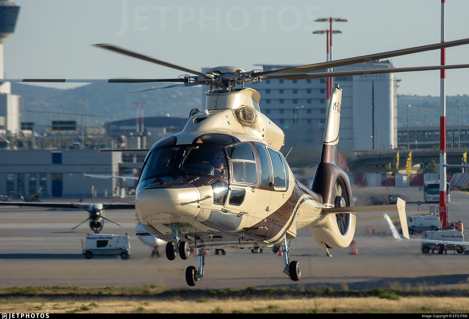 M-DLBA - Airbus Helicopters H155 B1 Dauphin - Private