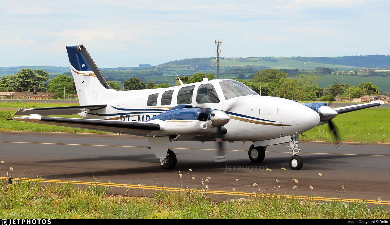 PT-MDC - Beechcraft G58 Baron - Private