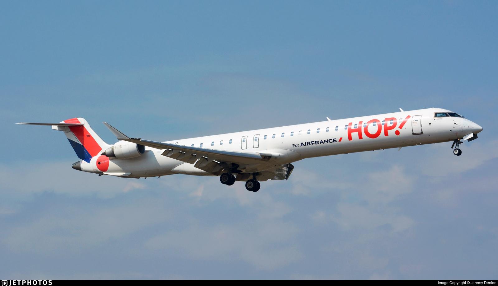 F-HMLD - Bombardier CRJ-1000EL - HOP! for Air France