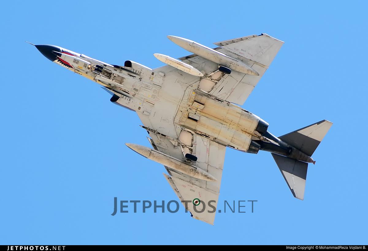 3-6525 - McDonnell Douglas F-4E Phantom II - Iran - Air Force