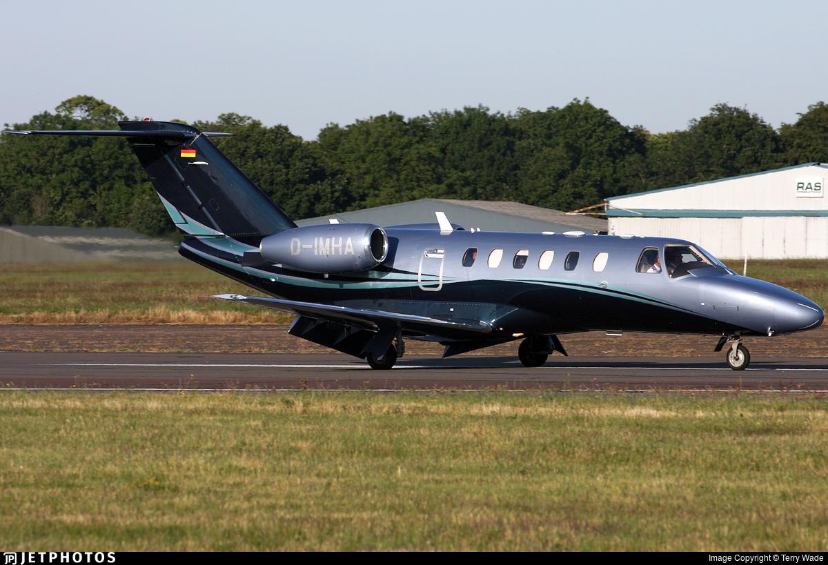 D-IMHA - Cessna 525 Citationjet CJ2 - MHS Aviation
